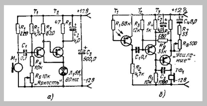 Схема приёмника и передатчика