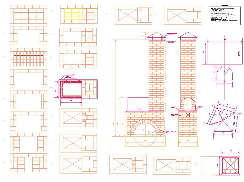 Схема построить барбекю