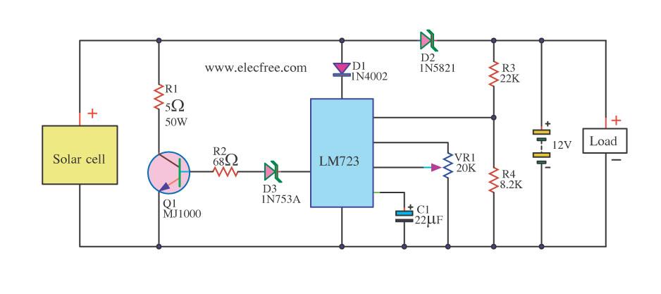 Схема зарядного устройства на солнечных батареях своими руками