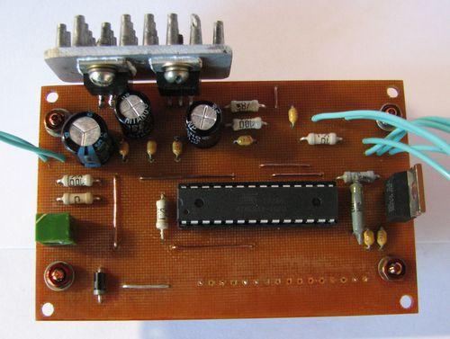 и тока на Atmega8